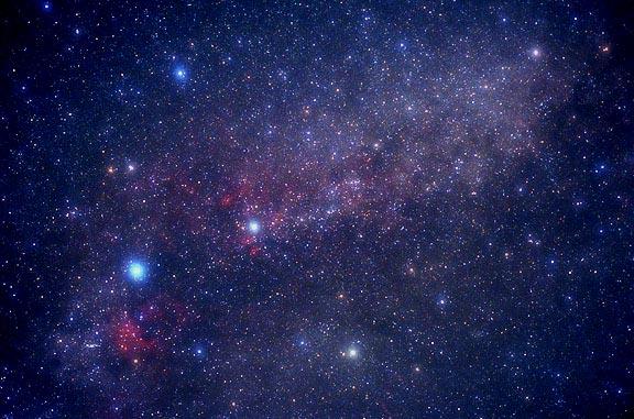 Constellation du Cygne étoile