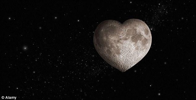Lune coeur